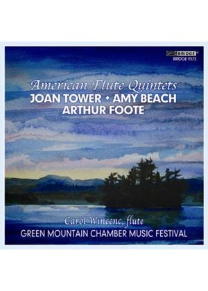 American Flute Quintets (Music CD)