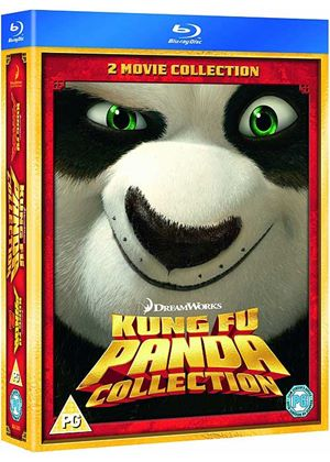 Kung Fu Panda 1 and 2 (Box Set) (Blu-ray)