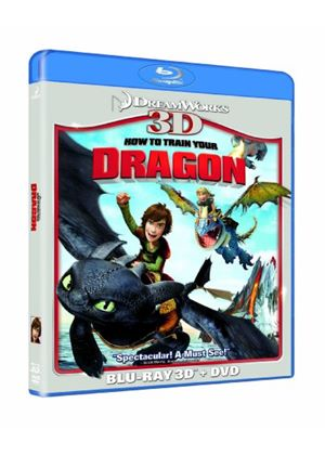 How To Train Your Dragon 3D (Blu-ray 3D, Blu-Ray & DVD)