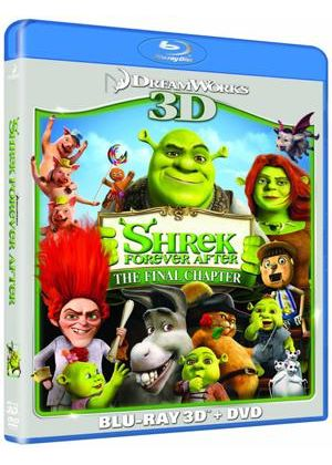 Shrek Forever After 3D (Blu-ray 3D, Blu ray & DVD)