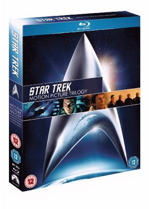 Star Trek - Motion PictureTrilogy (Wrath of Khan, Search for Spock, The Voyage Home) (Blu-Ray)