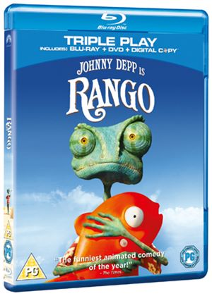 Rango - Triple Play (Blu Ray +DVD+Digital Copy)