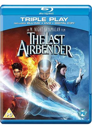 The Last Airbender - Triple Play (Blu-ray, DVD and Digital Copy) (2 Discs)