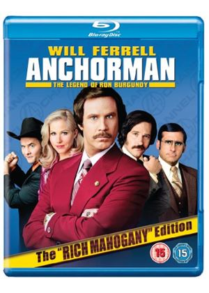 Anchorman: The Legend of Ron Burgundy (Extended Cut) (Blu-Ray)