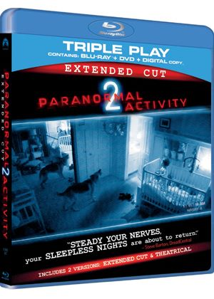 Paranormal Activity 2 - Triple Play (Blu-ray + DVD + Digital Copy)