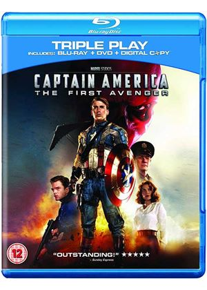 Captain America - The First Avenger: Triple Play (Blu-ray + DVD + Digital Copy)