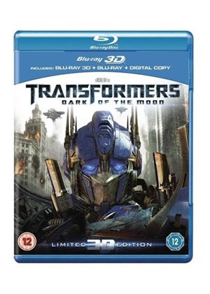 Transformers: Dark of the Moon (3D Blu-ray + Blu-ray + Digital Copy)