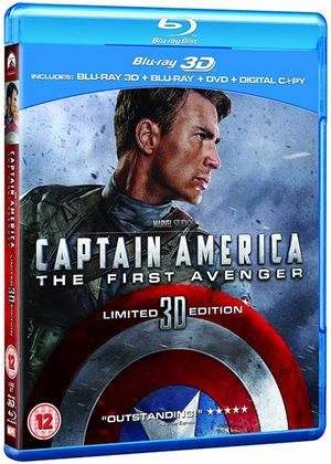 Captain America: The First Avenger (Blu-ray 3D + Blu-ray + DVD + Digital Copy)