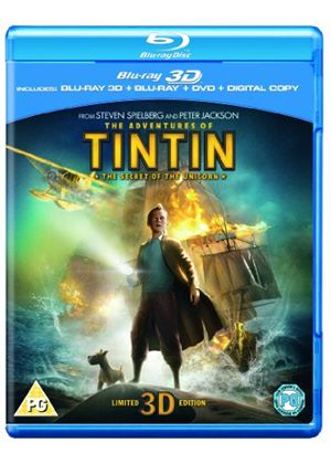 The Adventures of Tintin: The Secret Of The Unicorn (3D Blu-ray, Blu-ray, DVD and Digital Copy)