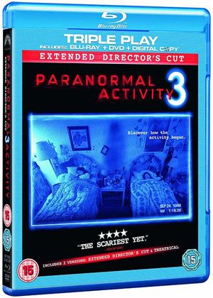 Paranormal Activity 3 (Blu Ray, DVD & Digital Copy)
