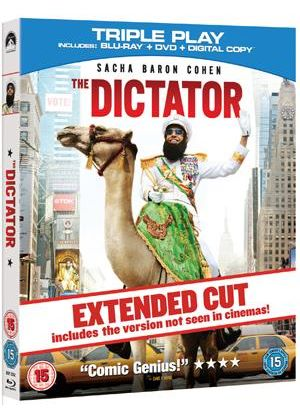 The Dictator - Triple Play (Blu-Ray + DVD + Digital Copy)