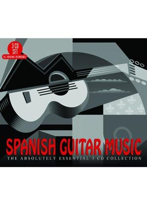Spanish Guitar Music: The Absolutely Essential 3CD Collection (Music CD)