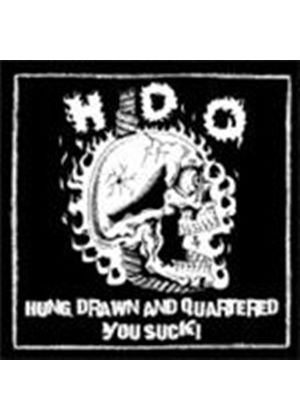 H.D.Q. - Hung Drawn And Quartered/You Suck (Music CD)