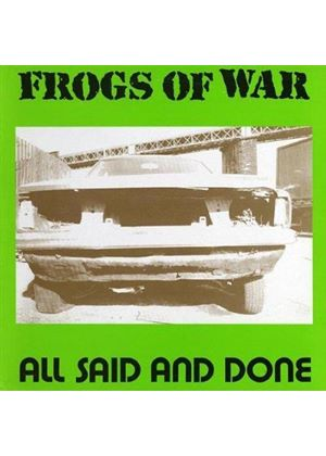 Frogs of War - All Said and Done (Music CD)