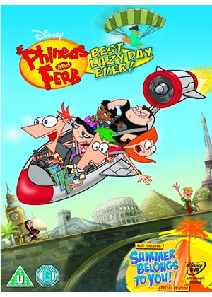 Phineas And Ferb - Best Lazy Day Ever