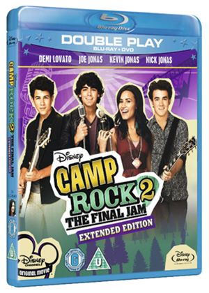 Camp Rock 2 - The Final Jam (Extended Edition) (Blu-Ray and DVD)