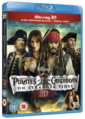 Pirates of the Caribbean - On Stranger Tides - 3D Super Play (Blu-ray 3D + 2D Blu-ray + Digital Copy)