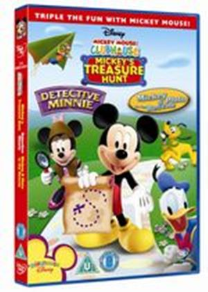 Mickey Mouse Clubhouse - Treasure Hunt / Detective Minnie / Mickey And Pluto To The Rescue