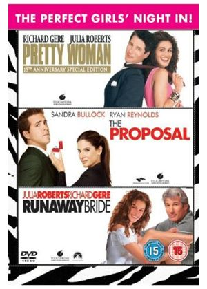 Girls Night In Triple Pack - Pretty Woman / The Proposal / Runaway Bride