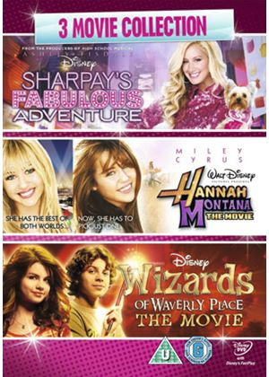 Girls Movie Triple (Sharpay/Wizards/Hannah Montana Movie)