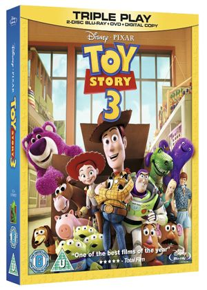 Toy Story 3 Triple Play (Blu-ray + DVD + Digital Copy)