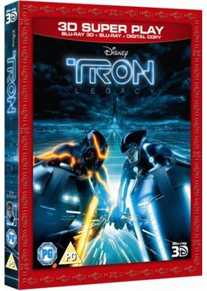Tron: Legacy - Super Play (3D Blu-ray + 2D Blu-ray + Digital Copy)