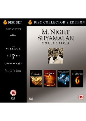 M. Night Shyamalan Collection (The Sixth Sense, Unbreakable, Signs, The Village) (6 Disc)