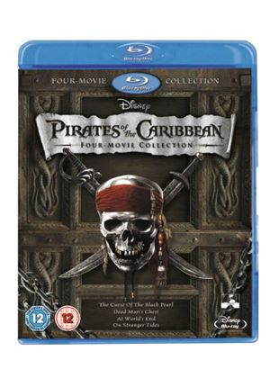 Pirates of the Caribbean - Blu-ray Boxset (Includes Pirates 1,2,3 & 4) (Blu-ray)