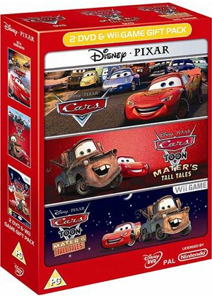 Cars Bundle - Includes Cars, Cars Toon DVD and Cars Toon Game (Wii)