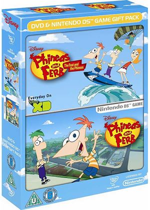 Phineas and Ferb Bundle - DVD and Game (Nintendo DS)