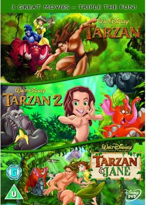 Tarzan / Tarzan 2 / Tarzan And Jane (Disney)