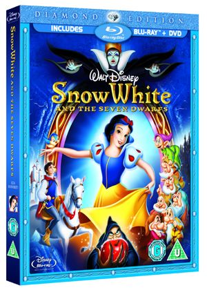 Snow White And The Seven Dwarfs (Diamond Edition)  (Blu-Ray and DVD) (Disney)