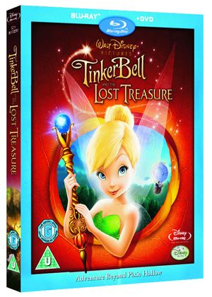 Tinker Bell And The Lost Treasure (Blu-Ray and DVD) (Disney)