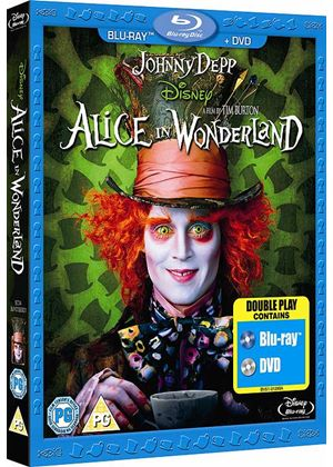 Alice in Wonderland Combi Pack (Disney) (2010) (Blu-Ray and DVD)