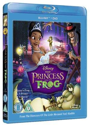 The Princess and the Frog Combi Pack (Blu-Ray and DVD) (Disney)