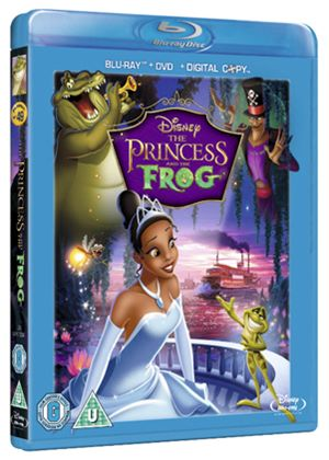The Princess and the Frog (Blu-Ray, DVD and Digital Copy) (Disney)
