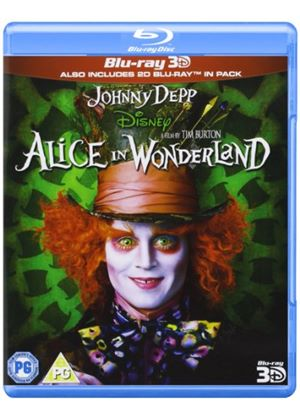 Alice in Wonderland (Blu-ray 3D)