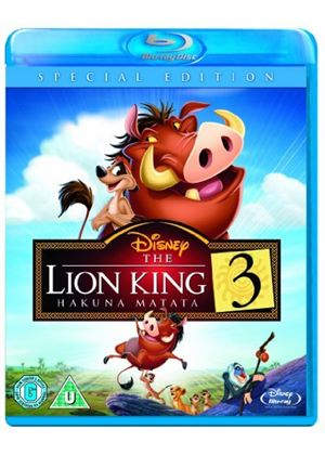 The Lion King 3: Hakuna Matata (Blu-ray)