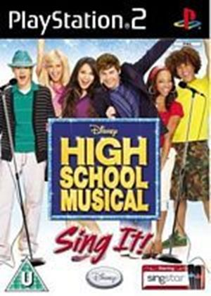 Singstar - High School Musical - Sing It (Solus) (PS2)
