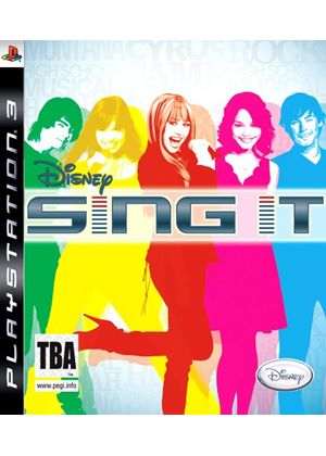 Disney Sing it - Featuring Camp Rock And Hannah Montana (Solus) (PS3)