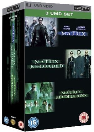 The Matrix / Matrix Reloaded / Matrix Revolutions UMD Box Set