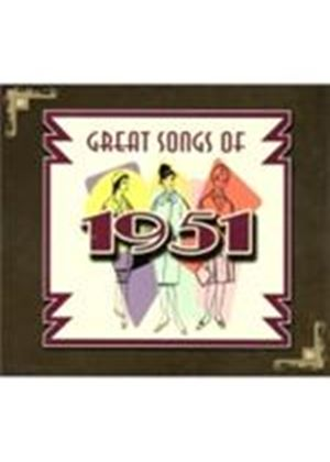 Various Artists - Great Songs Of 1951 (Music CD)