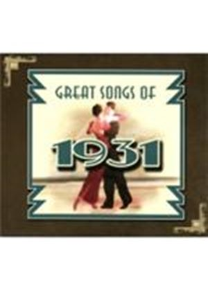 Various Artists - Great Songs Of 1931 (Music CD)