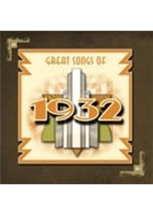 Various Artists - Great Songs Of 1932 (Music CD)