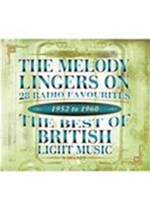 Various Artists - Melody Lingers On (The Best Of British Light Music, 1952-1960) (Music CD)