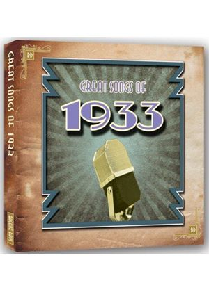 Various Artists - Great Songs of 1933 (Music CD)