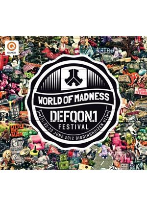 Various Artists - Defqon 1 - World Of Madness (Music CD)