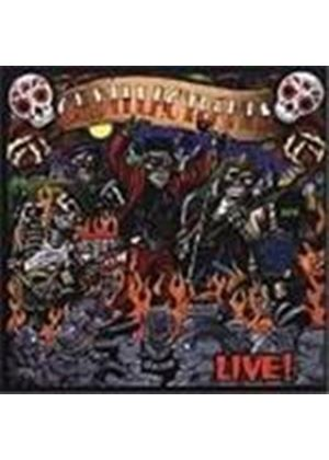 Cadillac Tramps - Live (Music Cd)