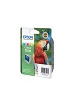Epson T008 - Print cartridge - 1 x color (cyan, magenta, yellow, light cyan, light magenta) - 220 pages