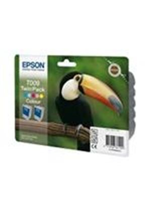 Epson T009 Twin Pack - Print cartridge - 2 x color (cyan, magenta, yellow, light cyan, light magenta) - 330 pages